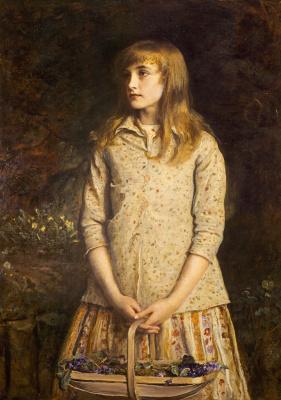 John Everett Millais. The sweetest eyes that ever seen