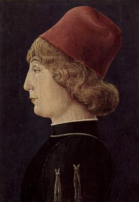 Козимо Тура. Мужской портрет