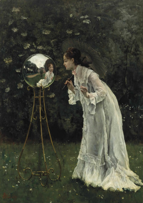 Silver ball. Private collection