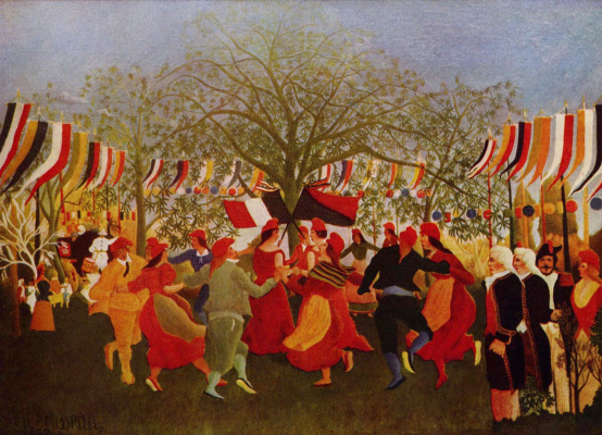 Henri Rousseau. The centenary of independence