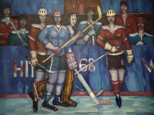 Edward Alexandrovich Bykhovets. THIS IS A HOCKEY