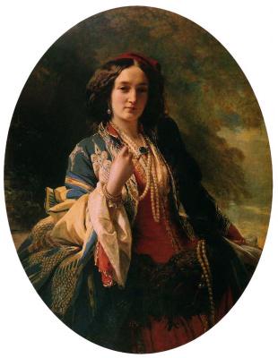 Franz Xaver Winterhalter. Catherine Branitskaya, Countess Potocka