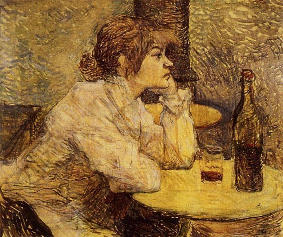 Henri de Toulouse-Lautrec. Hangover