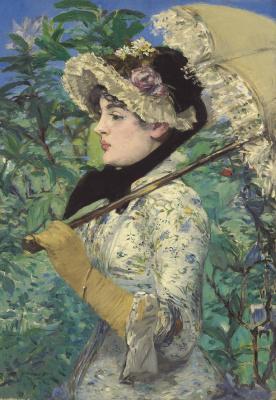 Edouard Manet. Spring