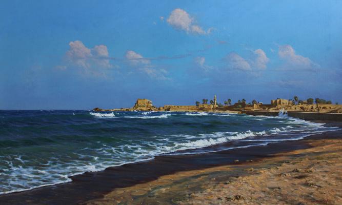 Artem Yurievich Puchkov. Caesarea, Israel.
