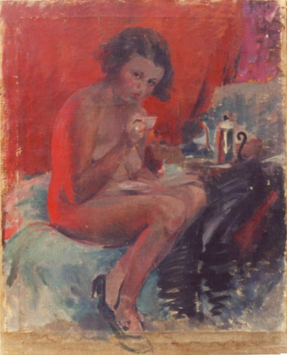 Pavel Petrovich Benkov. Nude Model