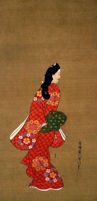 Hishikawa Moronobu. Openevsys beauty