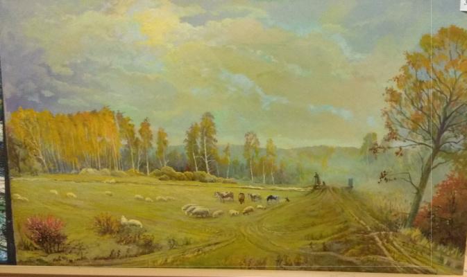 Nikolay Nikolaevich Asaulyak Belarus. Meadow