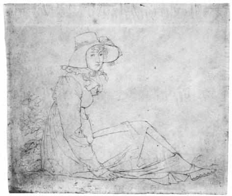 Peter von Cornelius. Mrs. Elizabeth Mals