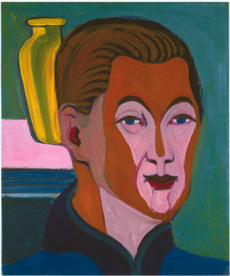Ernst Ludwig Kirchner. Self-portrait