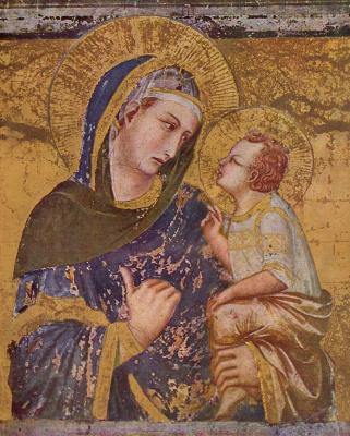 Pietro Lorenzetti. Madonna