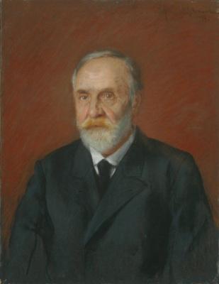 Isaac Levitan. Portrait of a man