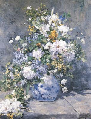 Pierre-Auguste Renoir. Spring bouquet.