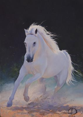 Дулат Абдульдинов. Белая лошадь