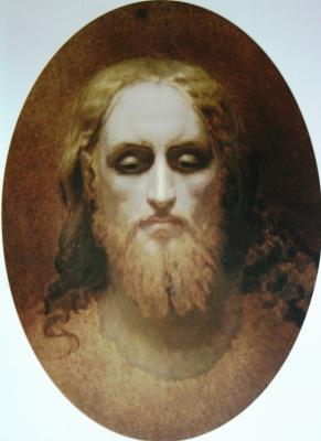 Ivan Nikolayevich Kramskoy. The Head Of Christ. Etude