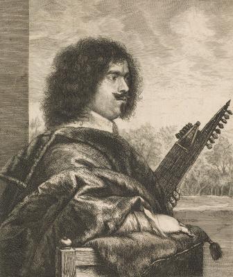 Jan Lievens. Jacques Gaultier, lute player