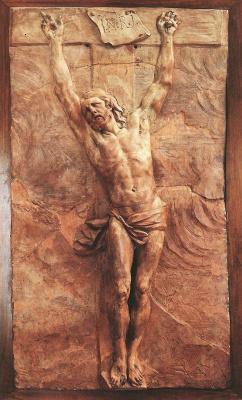 Пьер Пьюджет. Христос умер на кресте