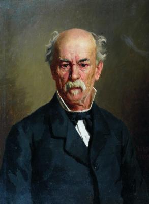 Николай Васильевич Неврев. Портрет Герасима Харитоненко. 1892
