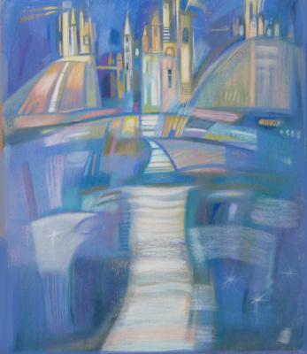 "Rumyana Vnukova. Psalms series Psalm 45 ""River flows amuse the city of God ..."""
