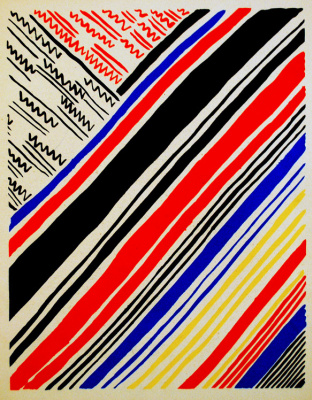 Sonia Delaunay. Composition 11