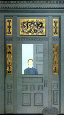 Will Barnet. The door