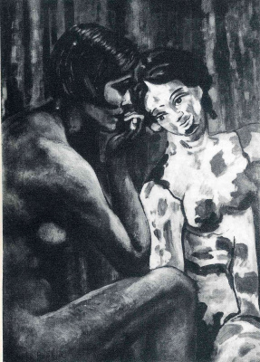 Francis Picabia. Open hearts