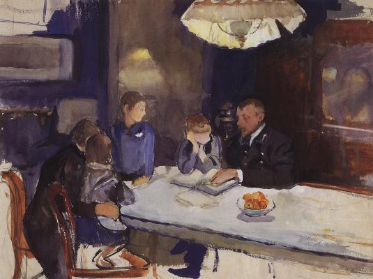 Зинаида Евгеньевна Серебрякова. Семейный портрет