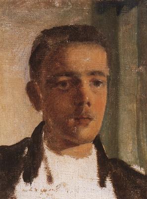 Constantin Somov. Portrait Of Sergei Diaghilev