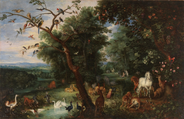 Peter Brueghel The Younger. Heaven on earth