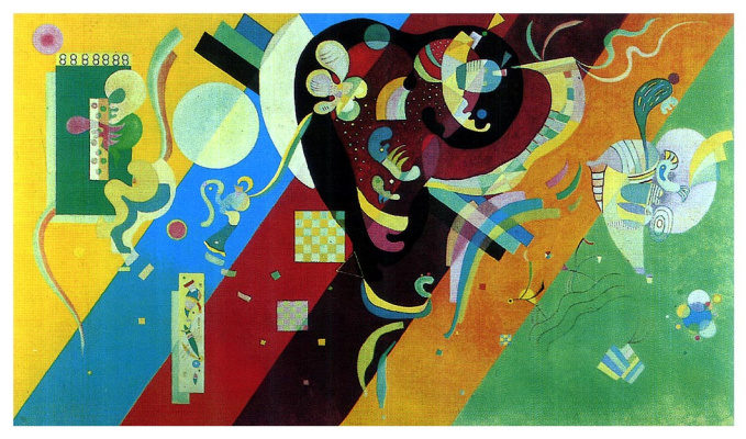 Wassily Kandinsky. Composition 9