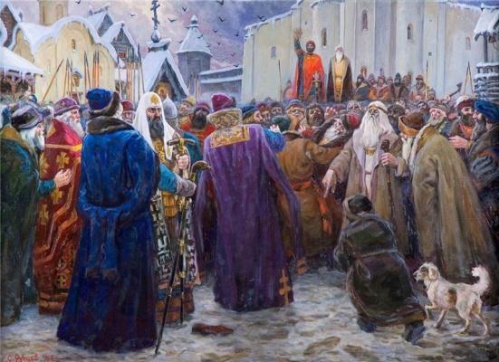 Sergey Semenovich Rubtsov. The Novgorod Veche