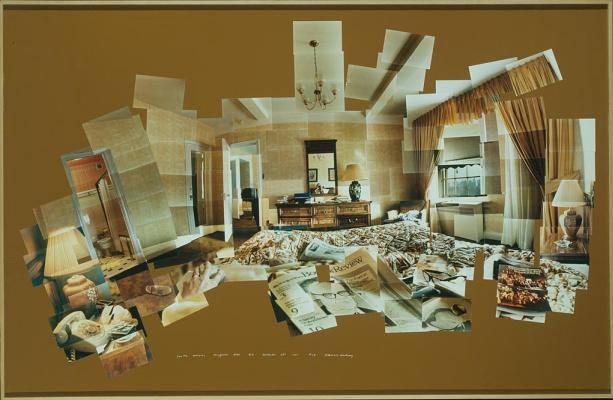 David Hockney. Sunday morning