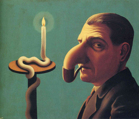 René Magritte. The lamp of the philosopher