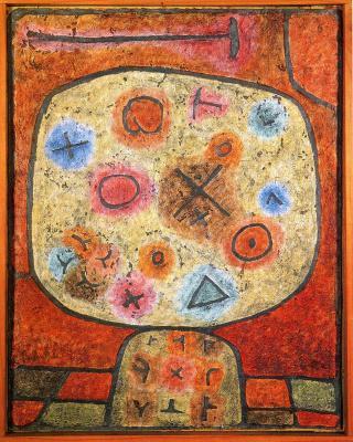 Paul Klee. Flowers in stone