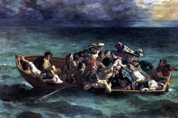Eugene Delacroix. The Shipwreck Of Don Juan
