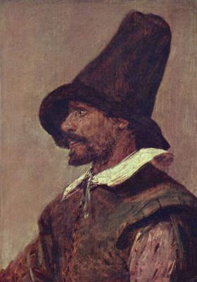 Adrian Brower. Portrait of Jan de doda