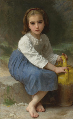 Вильям Адольф Бугро. Девочка с кувшином
