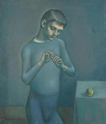 Юрий Петрович Григорьев. Boy with apple