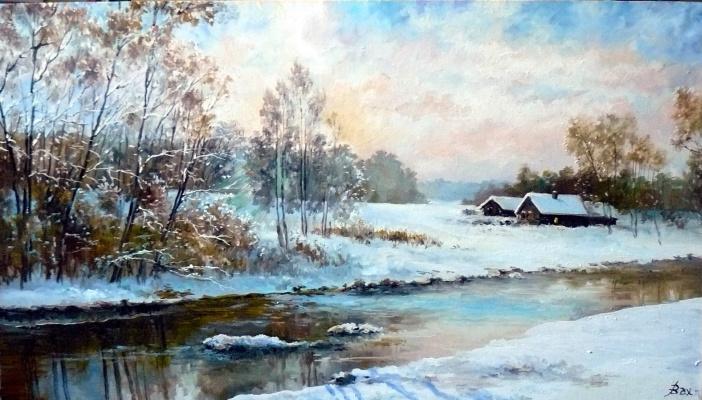 Vladimir Kimovich Vakhrushev. Winter fantasy