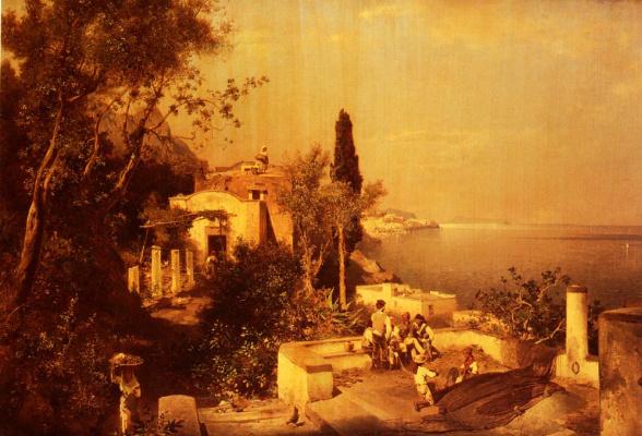 Franz Richard Unterberger. Terrace