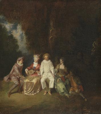 Antoine Watteau. Piero
