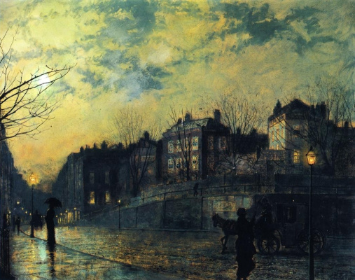 John Atkinson Grimshaw. Hampstead