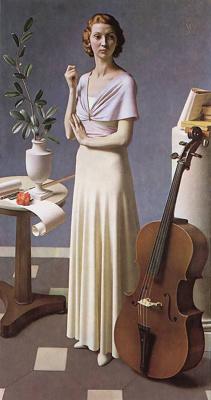Фредерик Гоуленд Хопкинс. Портрет молодой женщины