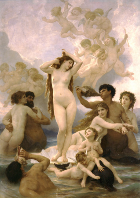 William-Adolphe Bouguereau. The Birth Of Venus