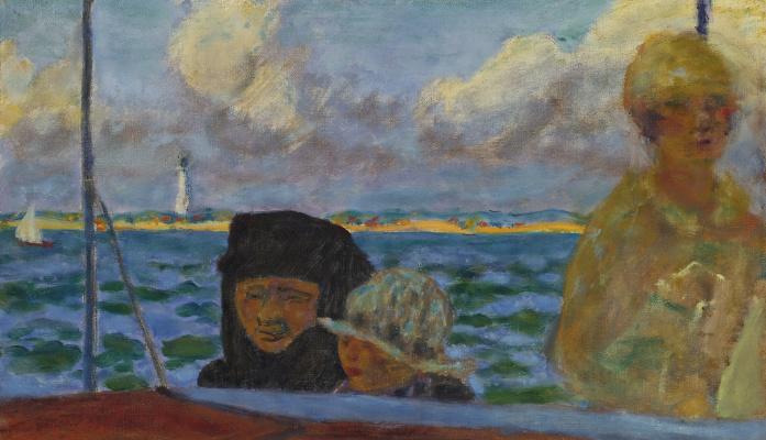 Pierre Bonnard. Walk on the sea