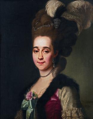 Dmitry Grigorievich Levitsky. Portrait of Princess Varvara Golitsyna