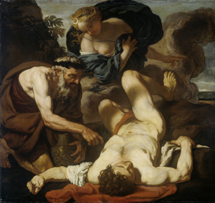 Johann Carl Lot. Selena and Endymion