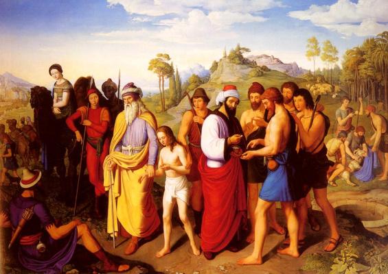 Александр Максимилиан Зайтц. Иосиф продается в рабство