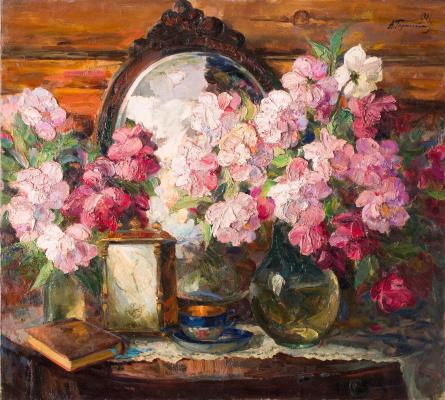 Alexander Mikhailovich Gerasimov. Peonies