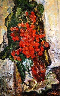 Haim Solomonovich Soutine. A bouquet of flowers